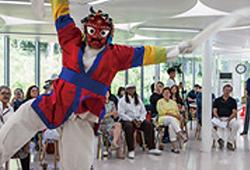 Dancing Bongsan Mask Dance